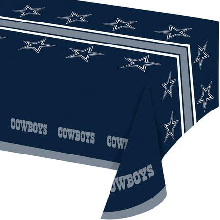 Dallas Cowboys Table Cover](Dallas Cowboy Party Decorations)