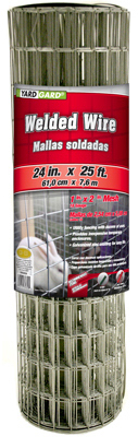 YARDGARD 1 Inch by 2 Inch Mesh, 24 Inch by 25 Foot Galvanized Welded Wire Fence by Midwest Air Technologies