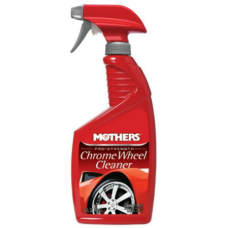Mothers 05824 Pro-Strength Chrome Wheel Cleaner - 24 - Chrome Wheel Cleaner