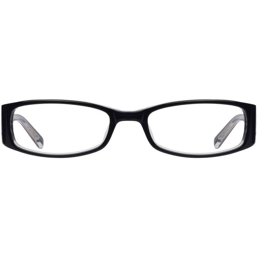covergirl womens eyeglass frames black walmartcom