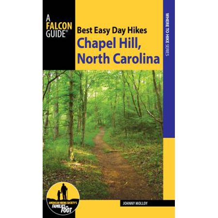 Best Easy Day Hikes Chapel Hill - eBook - Chapel Hill Halloween Map