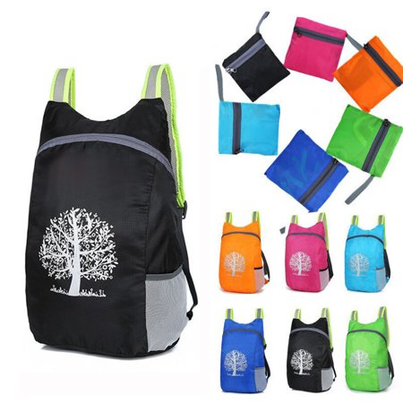 Durable Folding Packable Lightweight Travel Hiking Backpack Daypack (Packable Shopper)