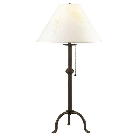 Cal Lighting Iron with Pull Chain Table Lamp ()