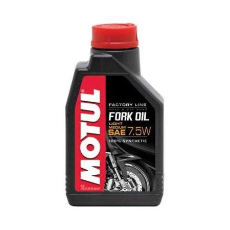 Motul 105926 Fork Oil Factory Line - Light/Medium 7.5W - (Long Oil Line)