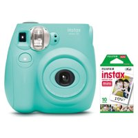 Fujifilm Instax Mini 7s Instant Camera (with 10-pack film) - Seafoam Green
