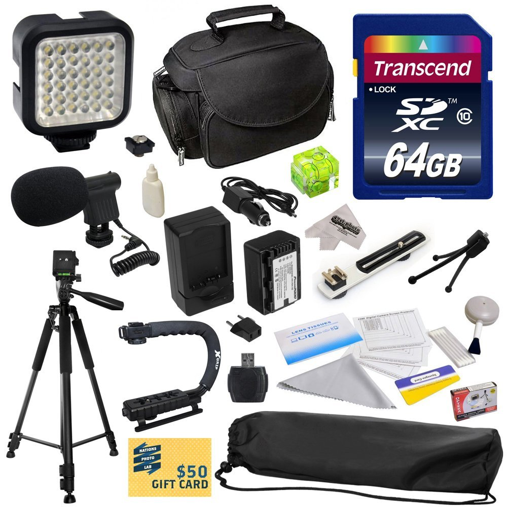 Opteka Advanced Kit for Panasonic HC-V700, HC-V700M, HC-V...