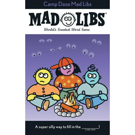Camp Daze Mad Libs