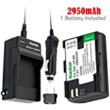 Kastar Battery (1_Pack) and Charger for Canon LP_E6, LC_E...