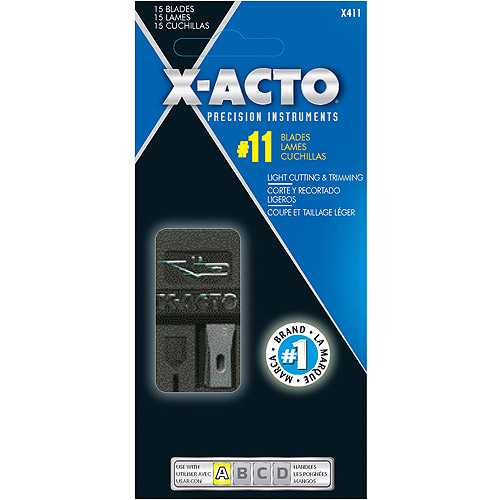 X-Acto #11 Refill Blades, 15-Pack
