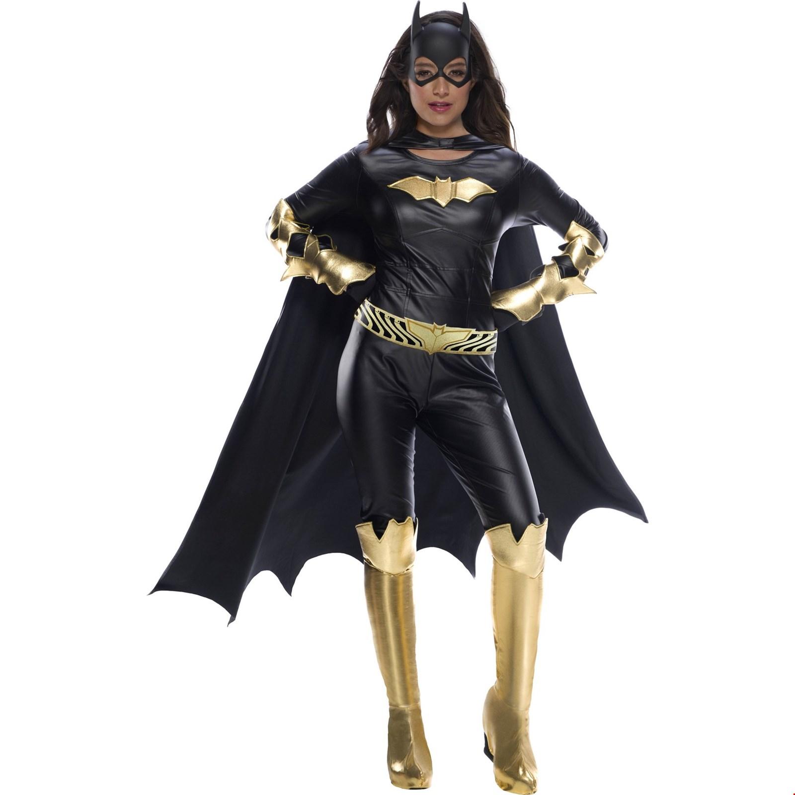 Womens Batgirl Jumpsuit Halloween Costume
