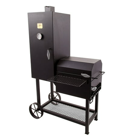 Oklahoma Joe 992 sq. in. Bandera Smoker (Oklahoma Joes Longhorn Combo Grill And Smoker)