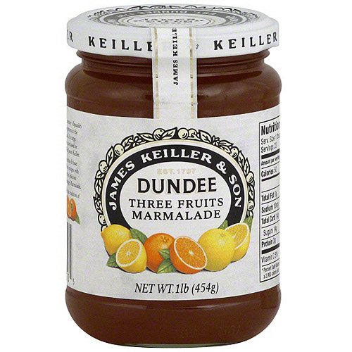 James Keiller & Son Three Fruits Marmalade, 16 oz (Pack of 6)
