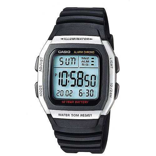 Casio Men's Alarm Chronograph Digital Sport Watch
