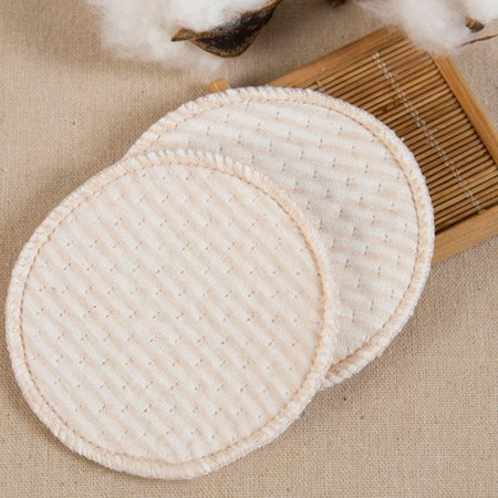 4PCS Collection Nursing Breast Pads Breastfeeding Absorbent Cover - image 5 de 9