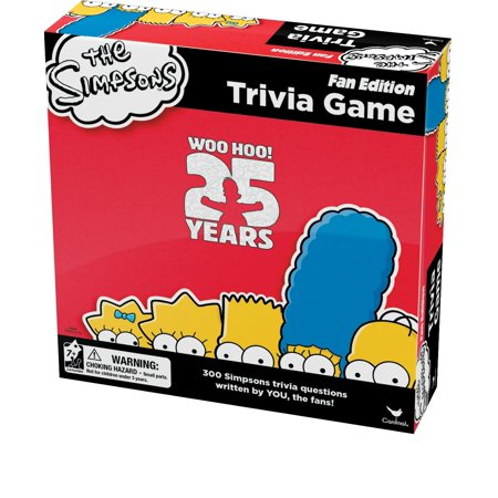 Trivia Game, 300 trivia questions that were created by fans By Simpsons Ship from US