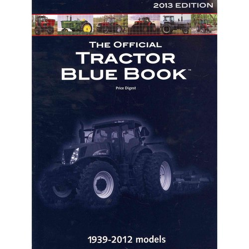 Tractor Blue Book >> The Official Tractor Blue Book 2013 Walmart Com