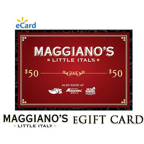 (Email Delivery) Maggiano's $50 eGift Card