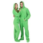 Emerald Green Adult Hoodie Fleece