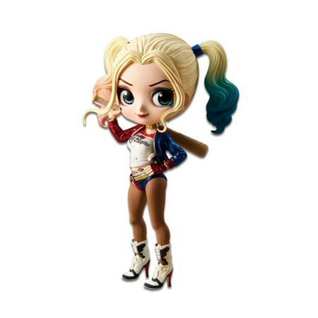 DC Comics Suicide Squad Harley Quinn A Normal Color Ver. Q Posket Figure](Gotham Harley Quinn)
