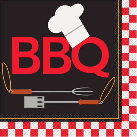 Backyard BBQ Party Lunch Napkins, 16ct](Bbq Party Ideas)