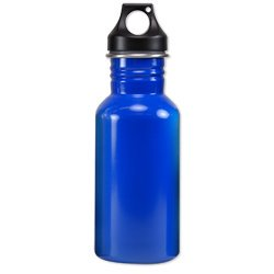 Eco-Friendly Wide Mouth 17 oz, 500 mL Stainless Steel Water Bottle - BPA Free, Blue
