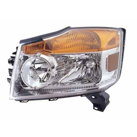 Go-Parts OE Replacement for 2008 - 2012 Nissan Armada Front Headlight Assembly Housing / Lens / Cover - Left (Driver) Side 26060-9GA0B NI2502175 Replacement For Nissan Armada 2008 Nissan Armada Replacement