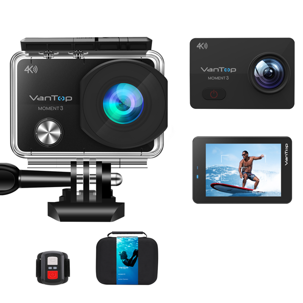 VanTop Moment 3 4K Action Camera