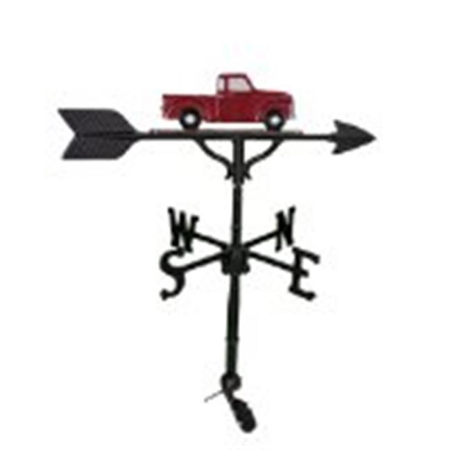 Montague Metal Products WV-216-SB 200 Series 32 In. Black Classic Truck Weathervane - image 1 de 1