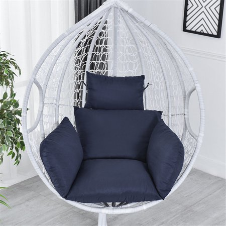 Hanging Egg Chair Pads Wicker Rattan Hanging Seat Cushion Nonslip Soft Swing Chair Cushion For Indoor Decoration Walmart Canada