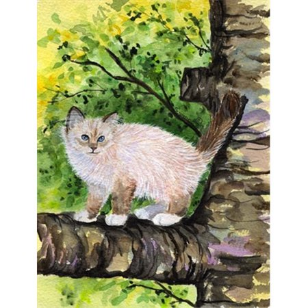 Carolines Treasures SS8278CHF 28 x 40 in. Cat - Birman Flag Canvas House Size - image 1 of 1