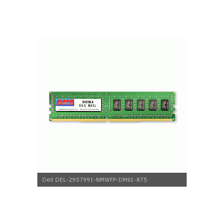 DMS Compatible/Replacement for Dell NMWFP EMC PowerEdge FC640 16GB DMS Certified Memory DDR4-2666 (PC4-21300) 2048x72 CL19 1.2v 288 Pin ECC Registered DIMM  - DMS