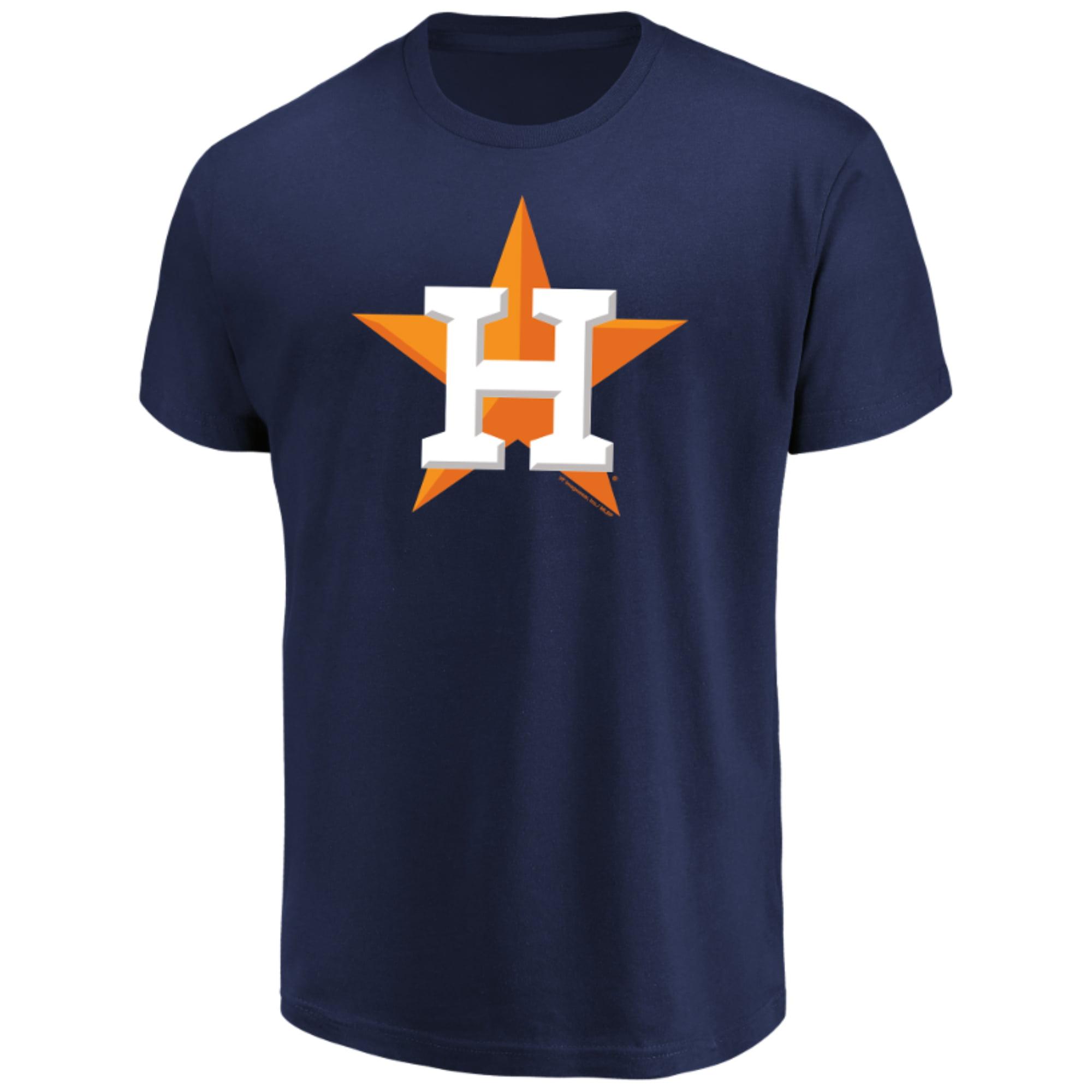 Men's Majestic Navy Houston Astros Top Ranking T-Shirt