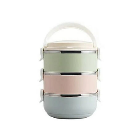 HC-TOP Compact Size Lunch Box Thermal For Food Bento Box Stainless Steel Lunch Box - image 5 de 6