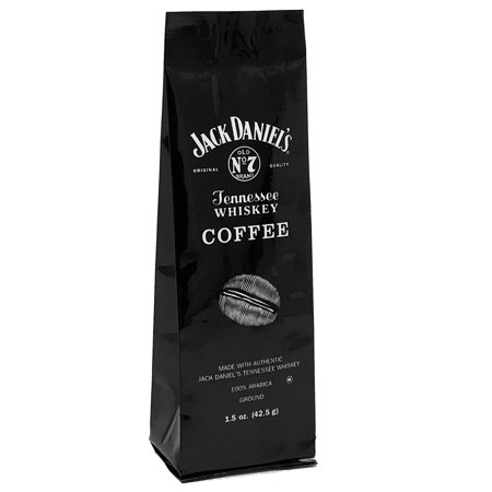 Jack Daniel's® Tennessee Whiskey Coffee, Ground, 1.5oz Gift (Irish Coffee Whiskey)