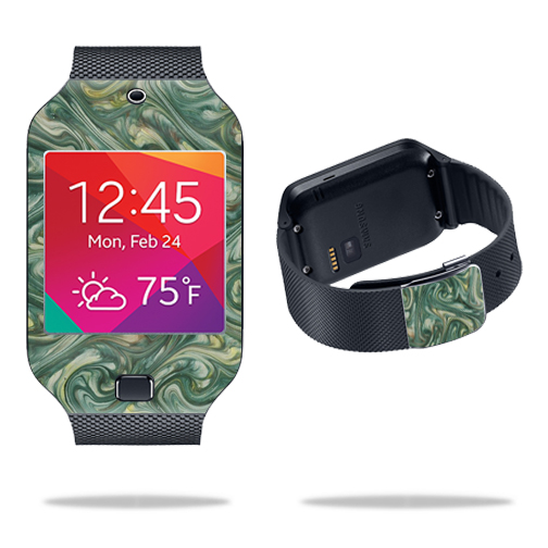 Skin Decal Wrap for Samsung Galaxy Gear 2 Neo Smart Watch cover skins sticker watch Marble Swirl