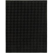 Garland Rug Diamond Black 5'x7' Indoor Area Rug