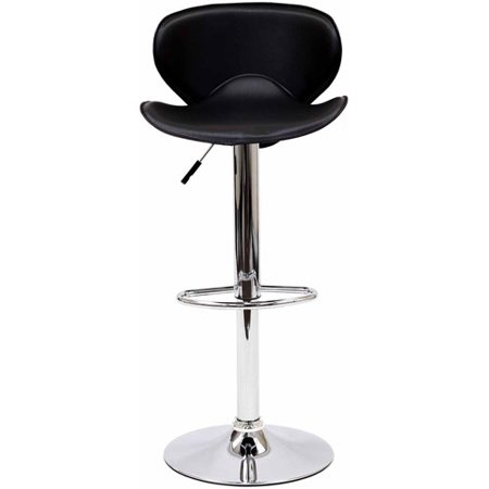 Modway Booster Leatherette Adjule Bar Stool Multiple Colors