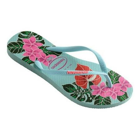 f9ca4f489c6c Havaianas - Women s Havaianas Slim Floral Flip Flop - Walmart.com