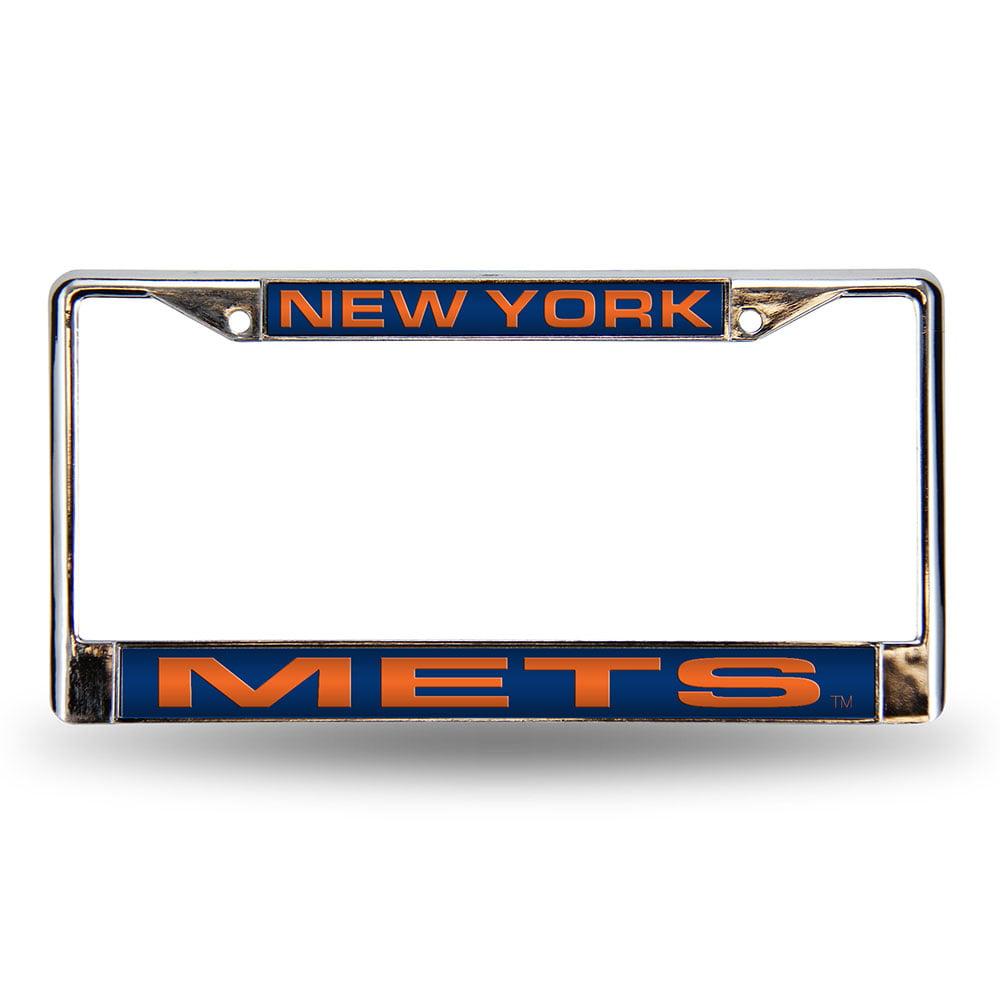 New York Mets MLB Laser Chrome Frame