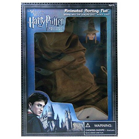 Universal Studios Wizarding World Harry Potter Animated Sorting Hat New with Box - Universal Studios Florida Halloween
