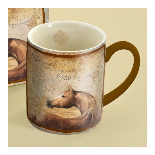 Lang 14 oz. Chestnut Beauty Mug
