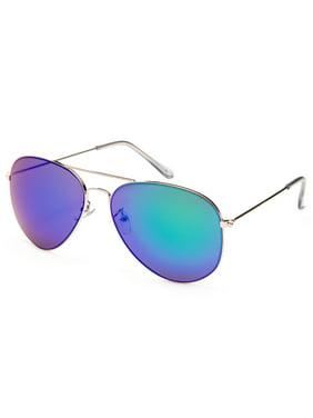 7d3da7ab7ca Product Image Newbee Fashion-4 Pack Classic Aviator Sunglasses Flash Full Mirror  lenses Slim Frame Super Light