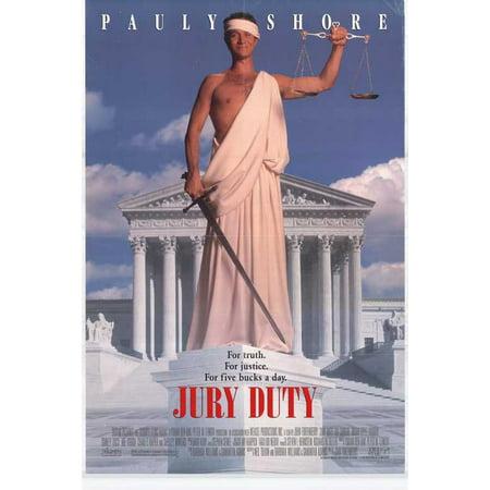 Jury Duty Poster Movie  27X40