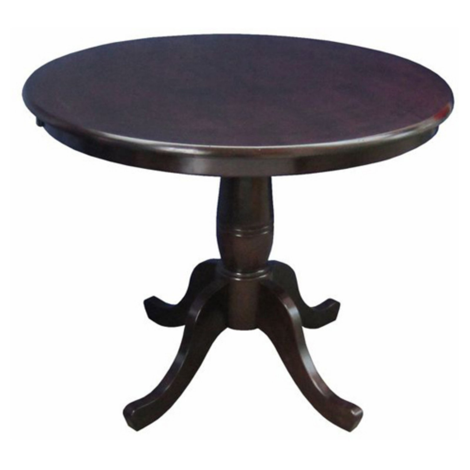 International Concepts Oakdale 30 in. Round Top Pedestal Dining Table