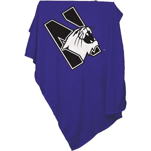 Northwestern Sweatshirt Blanket