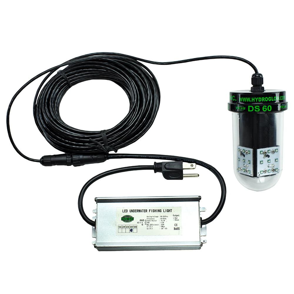 HYDRO GLOW DS60 60W 12VAC UNDERWATER DOCK LIGHT GREEN