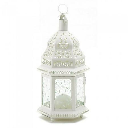 WHITE MOROCCAN LANTERN (White Moroccan Lantern)