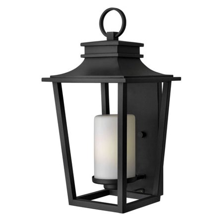 Glenview Black 23-Inch One-Light Outdoor Wall