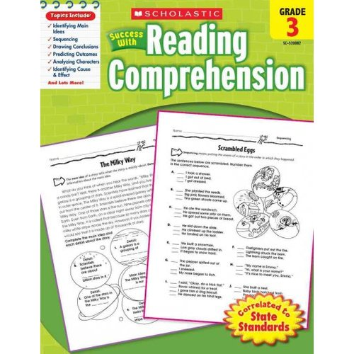 Scholastic Success With Reading Comprehension, Grade 3