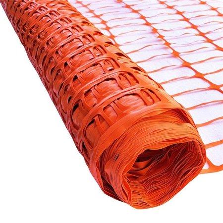 Aleko SF6535OR3X165-UNB 3 x 165 ft. Multipurpose Safety Fence Barrier PVC Mesh Net Guard, Orange - image 2 of 2